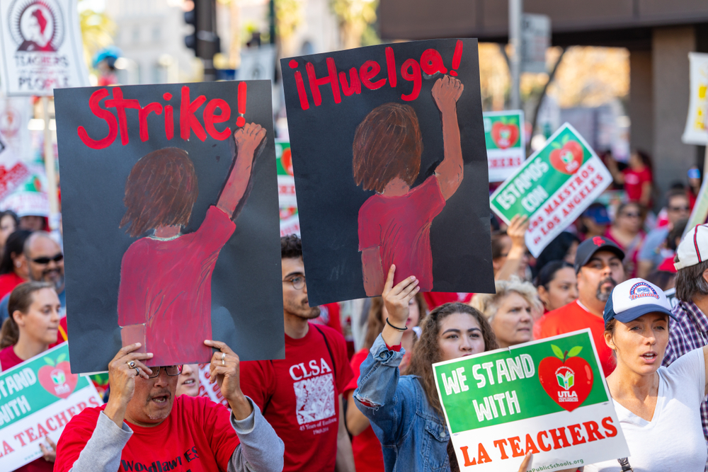 Let's Celebrate Striking Workers