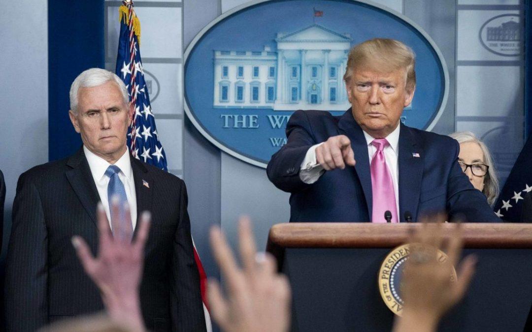 Facing a Global Coronavirus Pandemic, Trump Keeps Militarizing America
