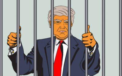 trump locked up