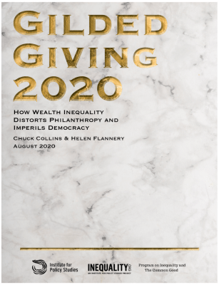 Gilded Giving 2020 report cover