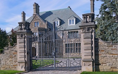 billionaire mcmansion gated house