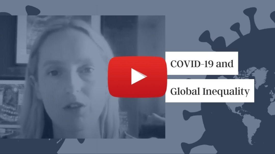Jenny Ricks on covid-19 and global inequality - pandemic pivot