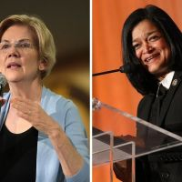elizabeth warren pramila jayapal wealth tax