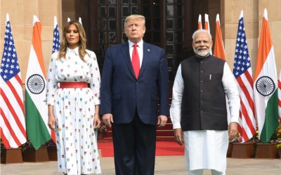trump and modi - far right - fossil fuel - climate