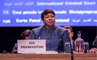 Fatou Bensouda of the International Criminal Court