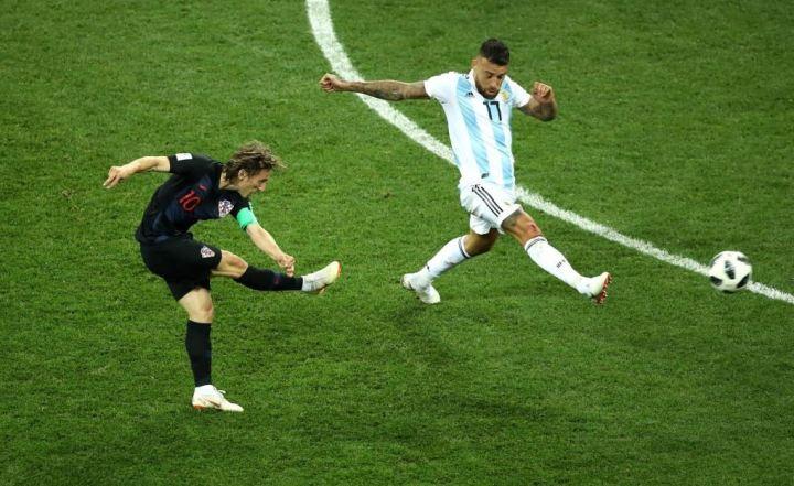 Modric vs Argentina | Numerosette Magazine