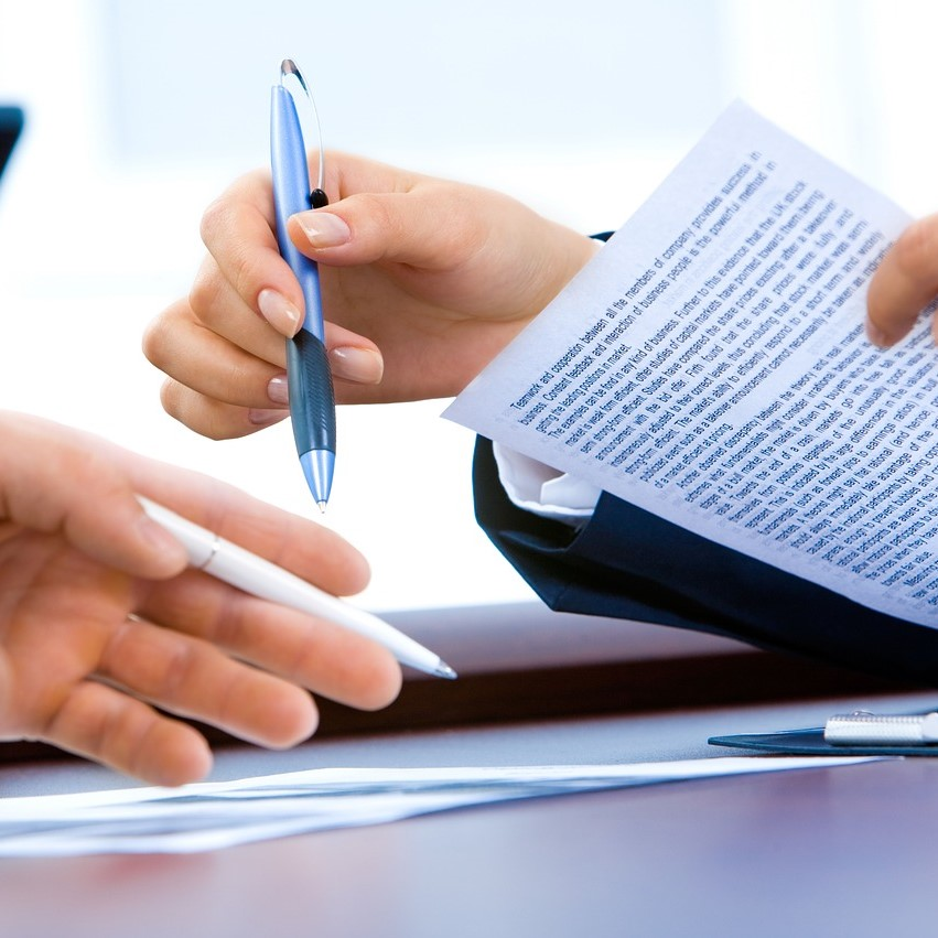 Contract law, signing agreements