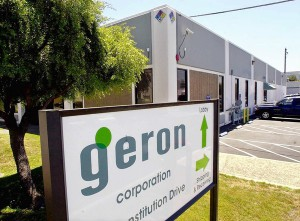 Geron, stem cell treatments
