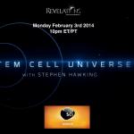 Stem Cell Universe with Stephen Hawking: TV show graphic and link