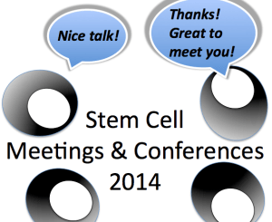 stem cell meetings