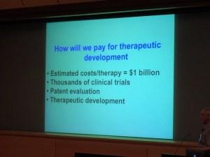Mark Noble presenting at RPI