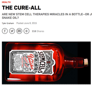 Popular Science piece on stem cells