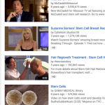 Surprising top 20 stem cell videos on YouTube