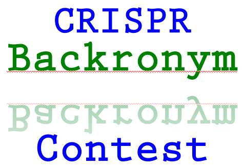 CRISPR-backronym-contest