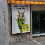 Anti-GMO poster in Switzerland invokes human GMOs