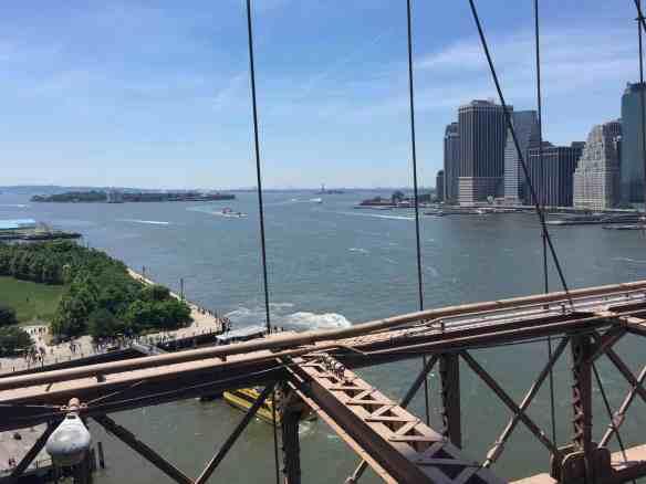 Brooklyn Bridge Statue of Liberty
