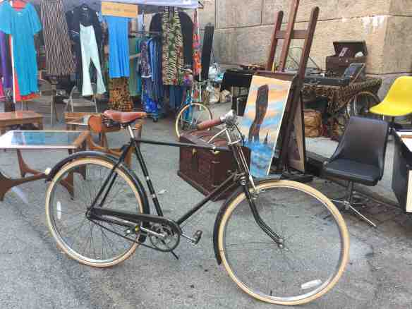Old fashioned bike