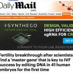 Science hype: award for worst CRISPR media headline of year