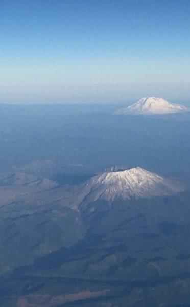 Mt. St. Helens Mt. Adams