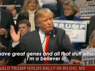Trump good genes eugenics