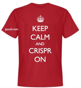 Keep calm & CRISPR on