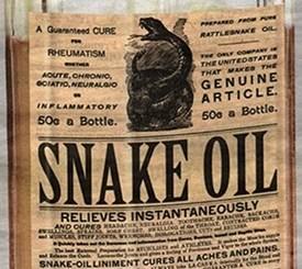 snake oil stem cell clinics
