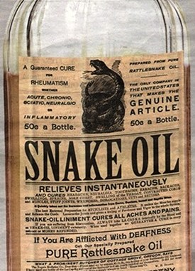 snake oil stem cell clinics
