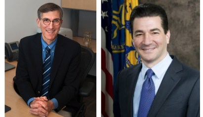 Dr. Peter Marks, Head of CBER, and Dr. Scott Gottlieb, FDA Commissioner