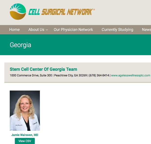 Walraven-Cell-Surgical-Network