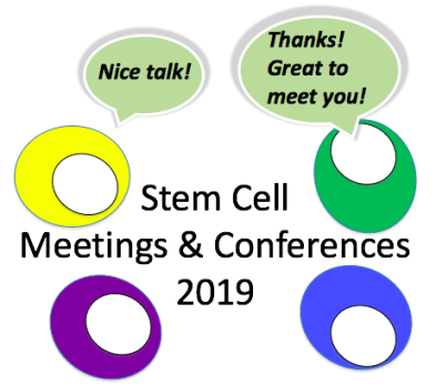 Stem Cell Meetings 2019