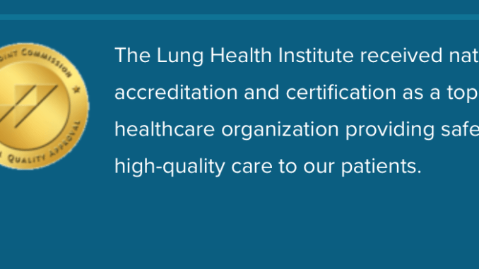 The Lung Institute Joint Commission