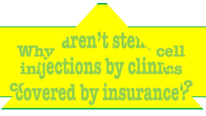 stem cells insurance