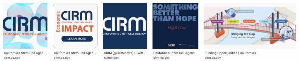 CIRM California stem cell agency