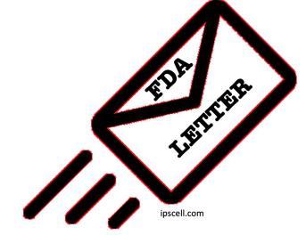 FDA letter, FDA warning letter, FDA untitled letter