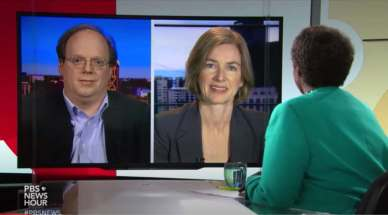 Knoepfler and Doudna interviewed by Gwen Ifil on the possibility of CRISPR babies.