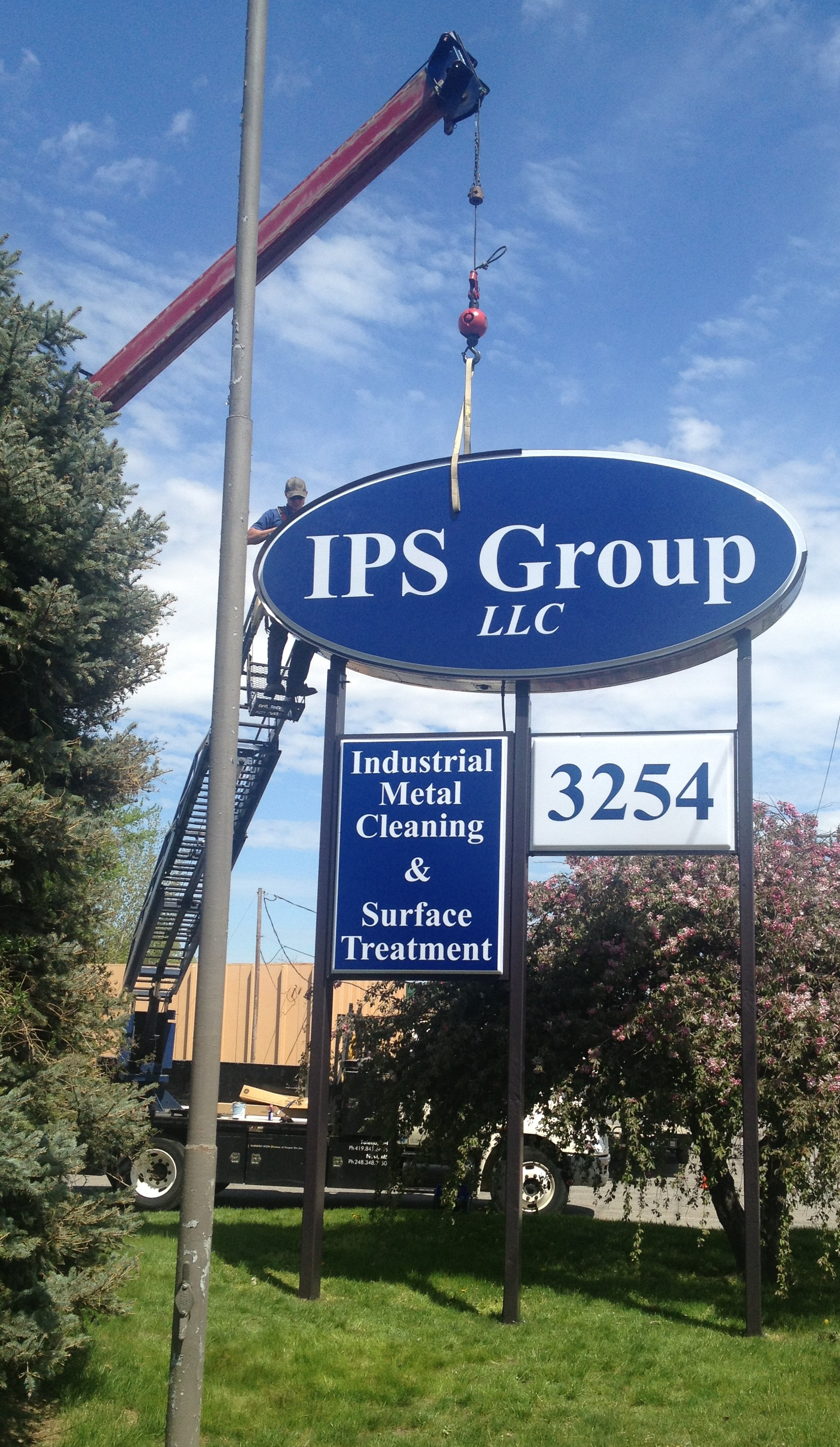 Renovation Continues on New IPS Location on Hill Avenue