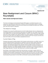CSIS - Base Realignment
