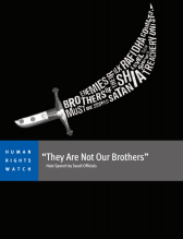 HRW - They Are Not Our Brothers