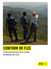 Amnesty - Conform or Flee - Repression and Insecurity Pushing Burundians Into Exile