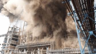 India explosion power plant