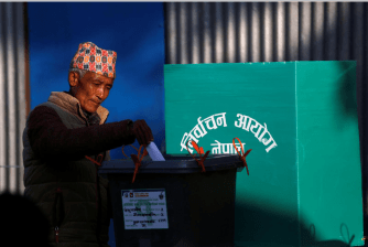 Nepal election vote