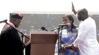 Liberia first peaceful