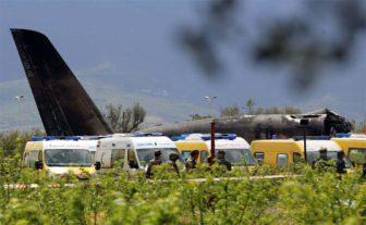 ALGERIA A military plane crash kills 257 people