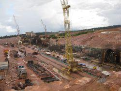 Jirau hydroelectric dam construction site.  / Credit:Mario Osava/IPS