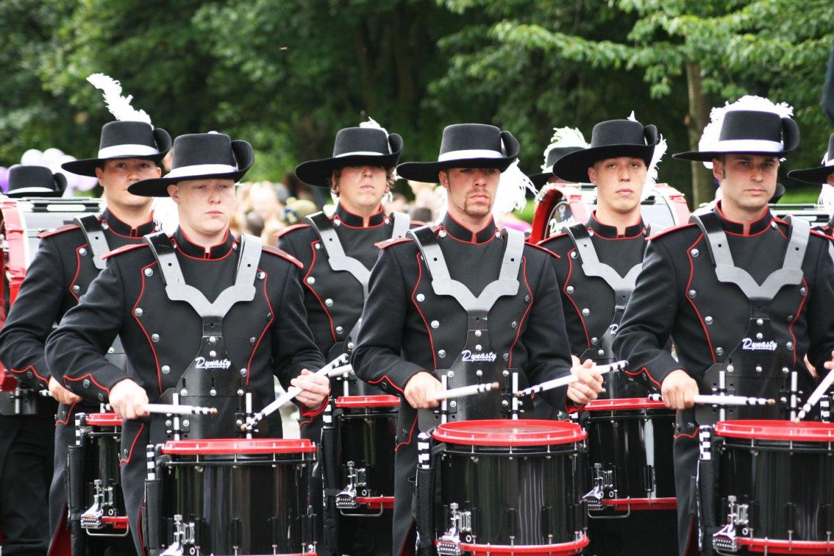 many drummer 'boys'