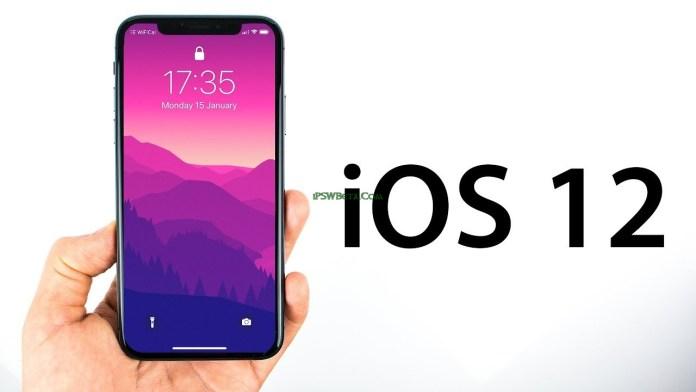 ios 12 beta 1 ipsw