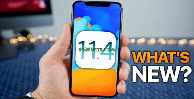 ios 11.4 beta 4 download ipsw