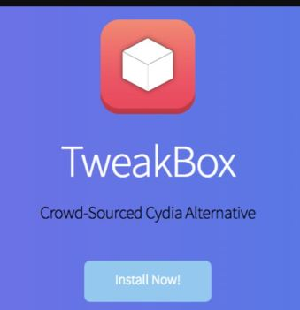Install TweakBox ios