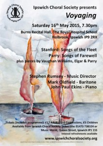 May 2015 concert poster