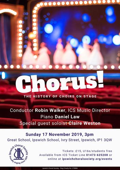 Chorus! poster Nov2019